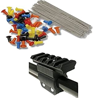 Venom Blowguns 50 Pack 40 Cal Target Darts with Tactical Rail Mount for Accessories