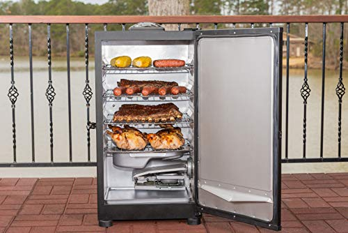 Masterbuilt MB20071117 Digital Electric Smoker, 30 inch, Black