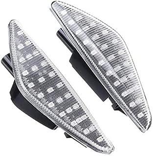 2 indicatori di direzione a LED per F25 E70 E71 X3 X5 X6 colore Nero SHIN YO