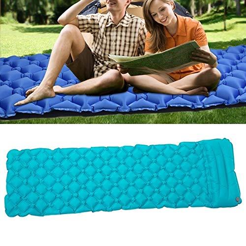 huihui Isomatte im Freien kampierende automatischen aufblasbaren Kissen Ultra Light TPU Luftmatratze Größe: 190x57x5cm (Color : Lake Blue)