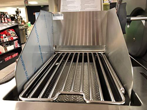 Windschutz für Napoleon Sizzle Zone LE Prestige LEX Gasgrill Grill Barbecue 800 Grad 🐮