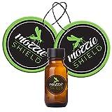 SHIELD MOZZIE Pack 2 Tarjeta y Recarga 10ml Anti Mosquitos, Repelente de Mosquitos para Evitar picaduras molestas