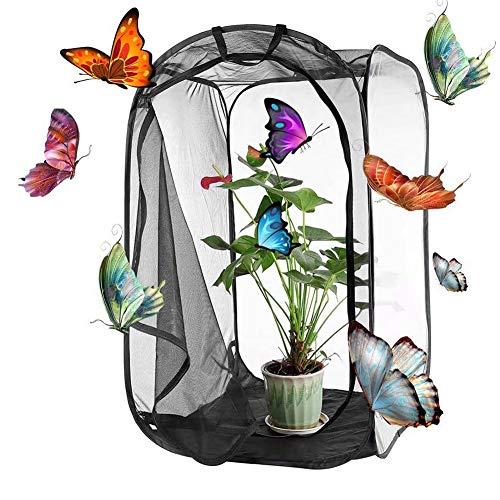 Butterfly House, Insekt Habitat Käfig Insekt Caterpillar Haus Net Insektenterrarium Mesh-käfig Für Airflow Pop Up Insect Kit