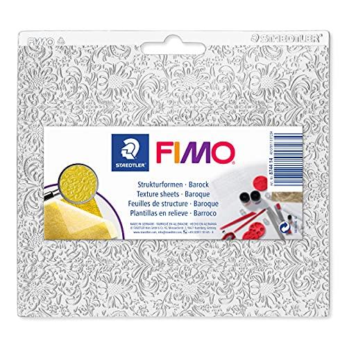 STAEDTLER 8744 14 Fimo accessoires structuurvorm barok