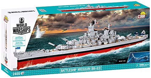 COBI World of Warships Battleship Missouri (BB-63)