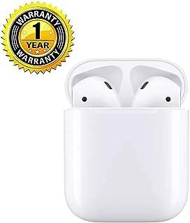 完全ワイヤレスイヤホン iPhone 用 Bluetooth対応 マイク付き ヘッドセットタッチコントロール 対応Siriへアクセス 左右分離型