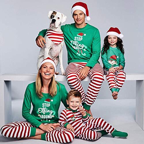 SAISAI Weihnachts Familien Schlafanzug Damen Herren Kinder Mädchen Jungen Baby...