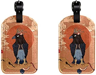 EagleLeather Luggage Tags Suitcase Labels Bag Travel ID Bag Tag, 1 Pcs