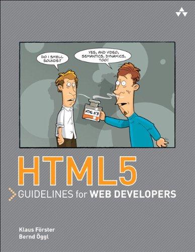HTML5 guidelines for web developers: HTML5 Guidel Web Develope_1