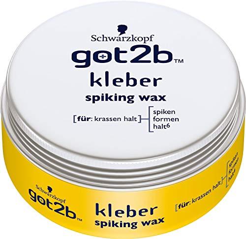 got2b Wax kleber spiking, krasser Halt, 2er Pack (2 x 75 ml)