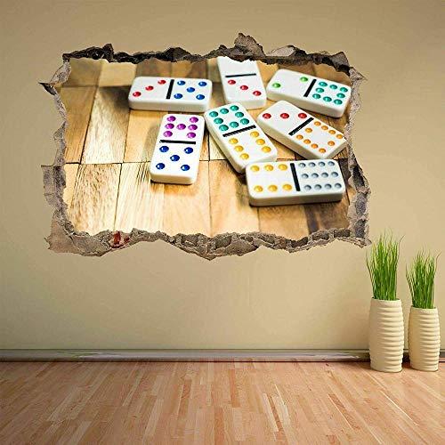 Pegatinas de pared - 3D- Azulejos Juego Etiqueta de la pared Etiqueta mural Decoración de la oficina en casa - 50×70cm