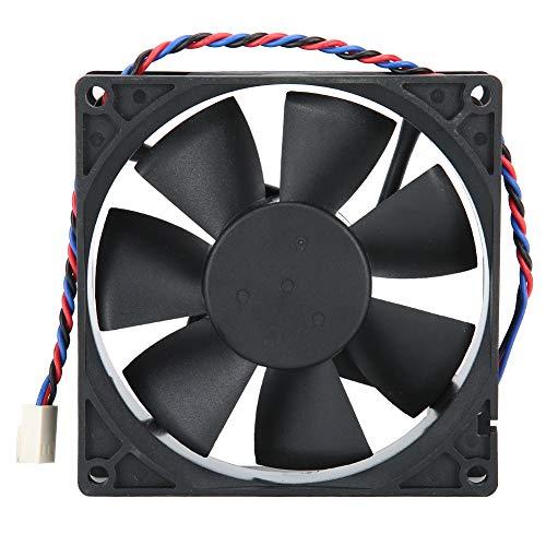 9025 Mini Enfriador de Bajo Rudio para Caja de Ordenadores, 92x92x25mm Caja de Ventilador de Refrigeración con Rodamientos de Bolas Dobles para Computadoras, 24V 0.40A Radiador para PC