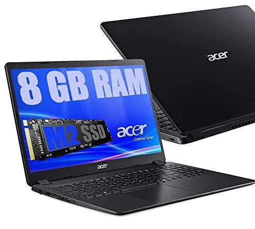 "Notebook Acer Extensa Portatile Pc Display da 15.6"" HD /Cpu Intel Dual Core N4020 Fino a 2.80Ghz /Ram DDR4 8GB /SSD M.2 256GB /Intel HD Graphics 600 /Hdmi Wifi Bluetooth /Windows 10 Pro"