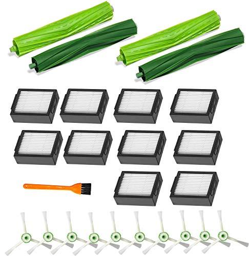 B Life Replacement Filters for iRobot Roomba i7 i7+ (7550)/i6+(6550)/ i3+ (3550)/E5 (5150) Accessories Kits,Compatible with iRobot Roomba i7 i7+/i7 Plus E5 E6 E7 Vacuum Cleaner