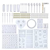 DIY Jewelry Craft Silicone Casting Molds and Tools Set for DIY Jewelry Craft Making