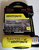 Kryptonite New York Fahgettaboudit Mini Heavy Duty Bicycle U Lock Bike...