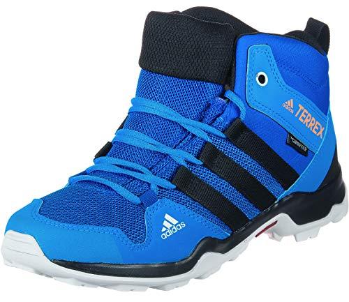 adidas Terrex Ax2r Mid CP K, Chaussures de Randonnée Hautes Mixte Enfant, Bleu (Belazu/Negbás/Naalre 000), 29 EU
