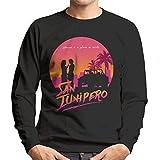 Cloud City 7 Black Mirror San Junipero Heaven Men's Sweatshirt