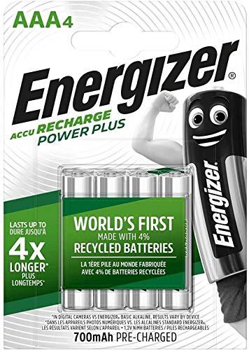Oferta de Energizer - Pilas recargables AAA (700 mAh, 4 unidades)