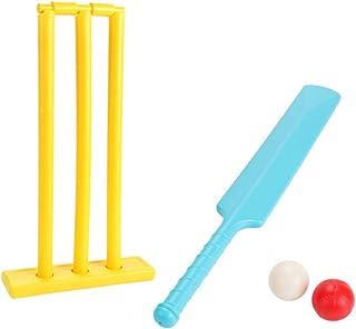 Toyvian Cricket Toy Set Cricket Sport Game Cricket Equipment Kids Ball Game Set for Backyard Family Sports Game Toys Rando...