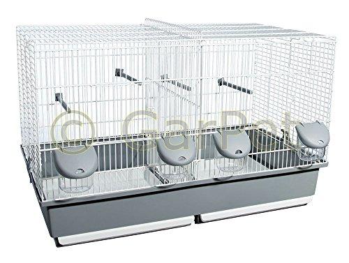 GarPet Vogelkäfig Teilbar Trennwand Trenngitter Vogel Käfig Zuchtkäfig Trennkäfig