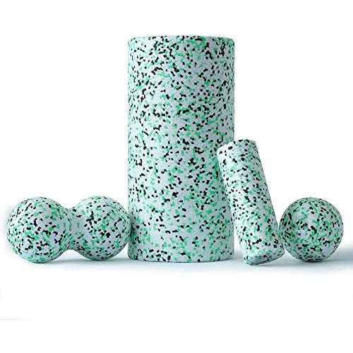 Best Review Of Foam Roller For Neck Knee Foot Sciatica Pain, Electric Foam Roller Fitness Eva Hard, ...