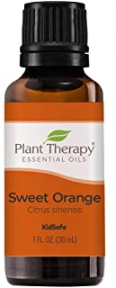 Plant Therapy Sweet Orange Essential Oil 100% Pure, Undiluted, Natural Aromatherapy, Therapeutic Grade 30 mL (1 oz)