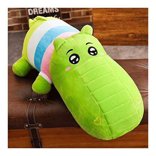 WJTMY Super Soft Rhinoceros - Hippo Plüsch niedliche Cartoon-Tiere ausgestopfte Puppe Startseite Sofa-Kissen-Kissen for Kinder Freundinnen Geschenk (Color : C, Size : 100cm)