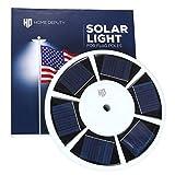 Best Flag Pole Lights - Solar Flag Pole Light - 111 LED Super Review