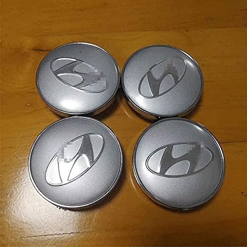 Tapacubos De ABS Para Coche, Llantas Centrales Con Emblema,Tapa A Prueba De Polvo,Tapas De Buje Hechas A Medida Para Hyundai Sonata New Tucson,4 Piezas