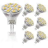 JSVSAL (6-Pack) 3W MR11 LED Light Bulbs,...