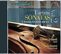 タルティーニ:ソナタ集 第2集 ~ヴァイオリンと通奏低音のための5つのソナタ