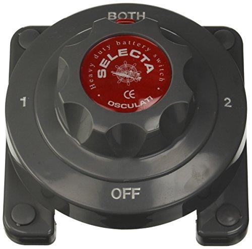 Osculati - Interrupteur/Coupleur Selecta pour batterie 12V