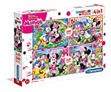 Clementoni Mouse 20 2 Puzzles 60 Piezas Minnie Happy Helpers, Multicolor (07615.4)