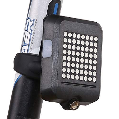 Yunobi MTB Bike 64 LED Smart Indicatori di Direzione Luce Wireless USB Fanale posteriore Auto-sensing Bike Fanale di Sicurezza Spia per Mountian Road Cycling