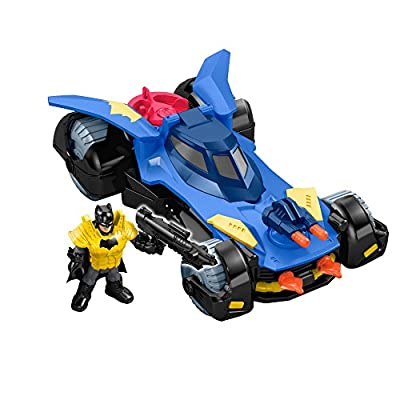 Fisher-Price Imaginext DC Super Friends, Batmobile, Pack of 1