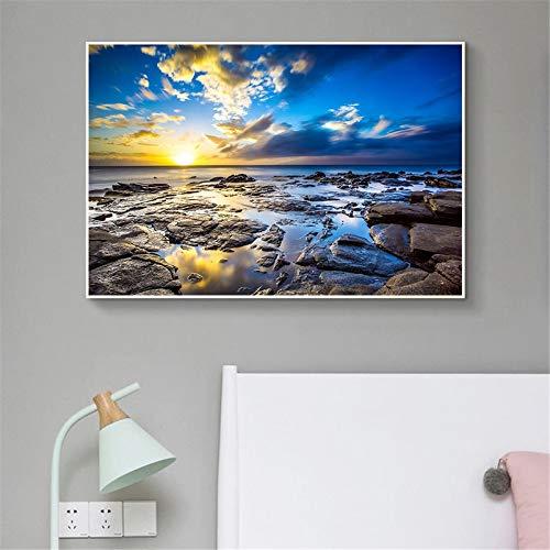 KWzEQ Leinwanddrucke Naturlandschaftswandkunstplakatplakat und Bilder für Wohnzimmer30x45cmRahmenlose Malerei