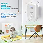 Air purifiers plug in for home, mini odor eliminator丨ozone negative ion dual function丨ionizer to remove smoke pet toilet… 14 🍃2-in-1 pluggable air purifier: cornmi air purifier has a built-in ozone and negative ion generator. Ozone has a strong oxidative decomposition ability, and negative ions can absorb dust. The combination of these two functions can effectively eliminate pet odor, secondhand smoke and kitchen oil fume, allowing you to enjoy natural fresh air at home. 🍃ozone deodorization function: the deodorizer can achieve the purpose of comprehensive and efficient cleaning by short-term releasing low-concentration o₃. O₃ has strong permeability, diffusibility and decomposition ability, which can effectively eliminate harmful substances and smells in the air. 🍃anion purification function: the air ionizer can produce anion, combine with the dust that are positive ions in the air and sink to the ground, avoiding the danger of inhaling floating objects. And achieve the removal of cigarette smoke, oil fumeand other particles matter. Effectivelyrefresh the air and improve the quality of sleep.