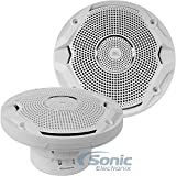 JBL MS6510 6-1/2' 300 Watts Max Power MS Series Dual Cone Water-Resistant Marine Car Boat ATV Speakers