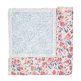 aden + anais Silky Soft Dream Blanket, White Label, 100% Viscose Bamboo Muslin Baby Blanket, Ideal Newborn Nursery & Crib Blanket | Unisex Toddler & Infant Boutique Bedding, Watercolor