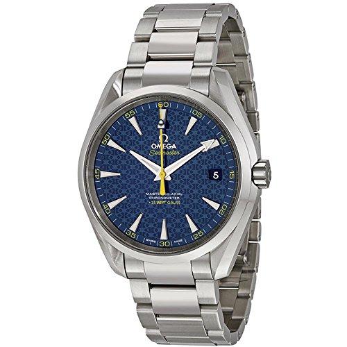 Omega, orologio automatico da uomo Seamaster James Bond, edizione limitata, 42 mm, cinturino in acciaio, 231.10.42.21.03.004