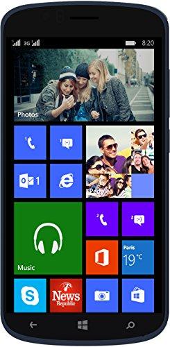 Archos Cesium 50 Windows Smartphone, Dual SIM, Nero [Italia]