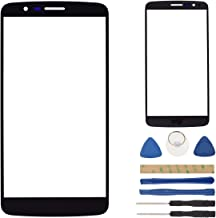 Black LS770 Glass Outer Screen Replacement Compatible with LG G Stylo LS770