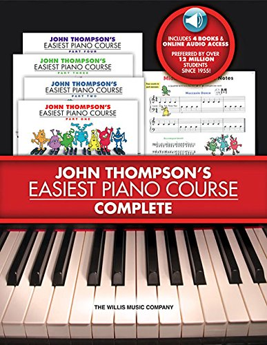 John Thompson s Easiest Piano Course - Complete: 4-Book Audio Boxed Set