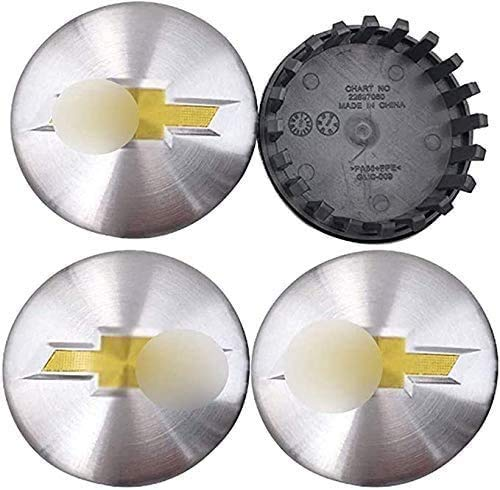 4 Uds tapas de cubo de centro de coche para Chevrolet, 83mm centro de rueda logo insignia pegatina forma de neumático accesorios de decoración