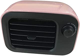 Yuan Dun'er Calefactor Aire Caliente bajo Consumo,Calentador portátil de Escritorio Ventilador Mini Calentador Calentador de Oficina en casa Calentador de Aire PTC