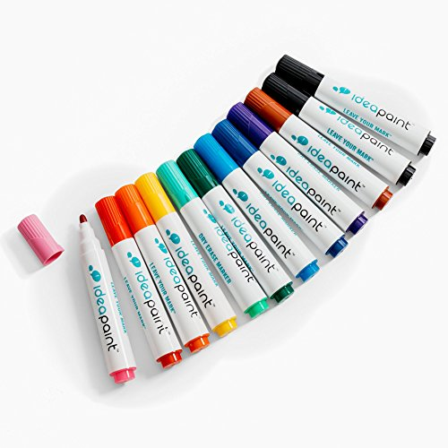 IdeaPaint Bullet Tip 12Pk Marker (Assorted)