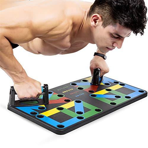 17-in-1-Multifunktions-Push-up-Board, einfaches und tragbares Outdoor-Fitnessgerät für den Heimgebrauch, geeignet für das Training von Brust, Bauch, Schulter und Armmuskeln bei Männern und Frauen