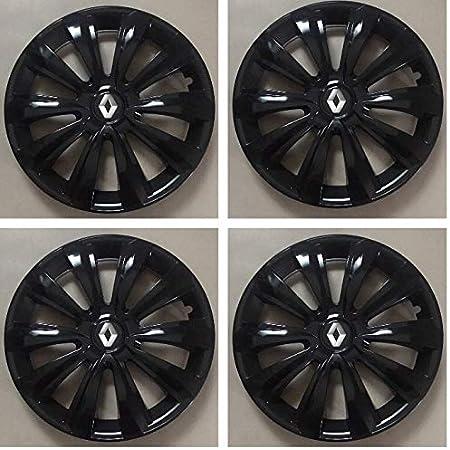 Unite C Wheel Trims Hub Caps 14 Inch Black For Renault Clio Megane Laguna Kangoo Auto
