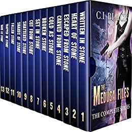 The Medusa Files: The Complete Series by [C.I. Black]